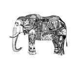 Goodbye Elephant Prints by Liz Ash