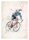 I Want to Ride My Bicycle Posters by Balazs Solti