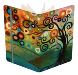 Autumn Morning Notebook by Natasha Wescoat