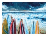 Watching the Waves Prints by Stuart Roy