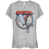 Juniors: Deadpool- Unicorn Charge T-Shirt