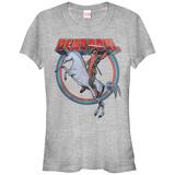 Women's: Deadpool- Unicorn Charge T-shirts