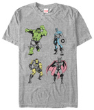 The Avengers- Neon Pop Heroes Shirts