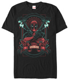 Deadpool- Wreckless Fresco Tshirts