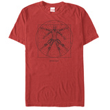 Spiderman- Vitruvian Spider Camisetas