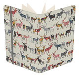 Oatmeal Spice Deer Notebook by Sharon Turner