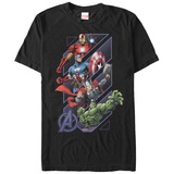 The Avengers- Slant Panels T-shirts