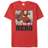 Iron Man- You'Re My Hero T-Shirt