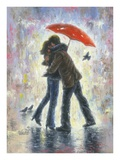 Kiss in the Rain Posters by Vickie Wade