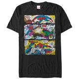 Spiderman- Hero Action Panels T-shirts