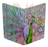 Psychedelic Peacock Notebook by Dee Smart