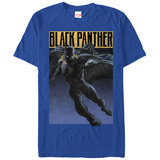 The Black Panther- Caped Avenger T-shirts