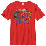 Youth: Spiderman- Amazing Panels T-shirts