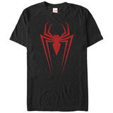 Spiderman- Ultimate Red Spider Logo Tshirts