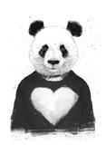 Lovely Panda Prints by Balazs Solti