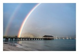 Rainbows at Hanalei Posters by Daniel Burt