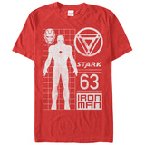 Iron Man- Stark Model 63 T-shirts