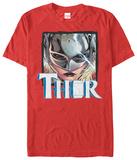 Lady Thor- Helmed Heroine T-Shirt