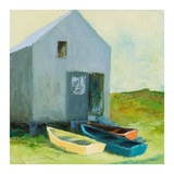 Boat House Prints by Martha Wakefield