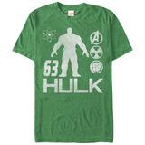 The Hulk- 63 Iconology T-skjorter