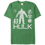 The Hulk- 63 Iconology T-shirts