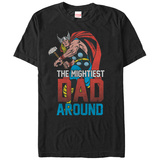 Thor- Mightiest Dad Around T-Shirt