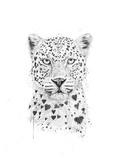 Lovely Leopard Plakater af Balazs Solti