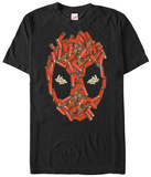 Deadpool- Shell Casing Hood T-Shirt