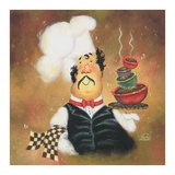 Bow Tie Chef Posters by Vickie Wade