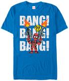 Deadpool- 8-Bit Bang! Shirts