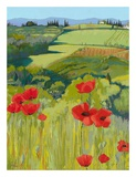 Field of Poppies Prints by Jane Henry Parsons