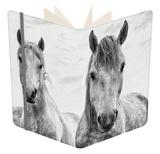 White Horses, Camargue, France Notebook by Nadia Isakova