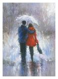 Rain Romance Print by Vickie Wade