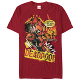 Deadpool- Outta The Way Nerd! T-shirts