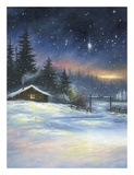Heavenly Night Prints by Vickie Wade