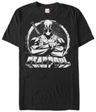 Deadpool- Black & White Hero Shirts
