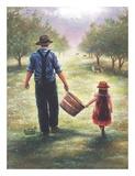 Dad's Helper Art by Vickie Wade