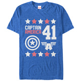 Captain America- 41 Iconology T-Shirt