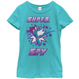 Young Girls: The Black Widow- Super Spy T-shirts