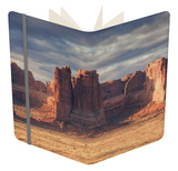 Morning Outside Moab, Utah Notebook by Vincent James