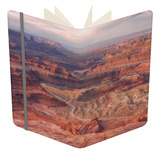 Grand View at Dead Horse Point Notebook by Vincent James