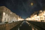 Awalking To the Moon Stampa fotografica di Viviane Fedieu Daniel