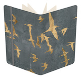 Silhouettes in Flight IV Notebook by Jennifer Goldberger