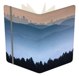 He View from the Summit of Mt. Tamalpais Looking Back Towards the City of San Francisco, Ca Notebook by Ian Shive