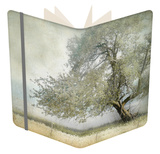 Tree in Field of Flowers Notebook by Mia Friedrich
