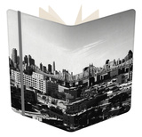 Panorama of NYC II Notebook by Jeff Pica