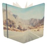 Usa California Sierra Nevadas Notebook by Laura Evans