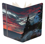 Sunset at Bass Harbor Notebook by Vincent James