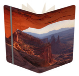 Morning at Mesa Arch, Canyonlands Notebook by Vincent James