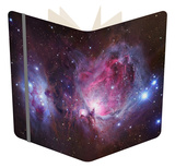 M42, the Orion Nebula (Top), and NGC 1977, a Reflection Nebula (Bottom) Notebook by  Stocktrek Images